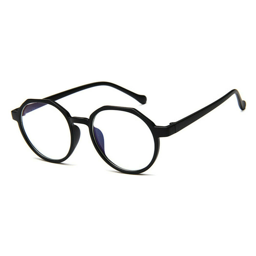 New Oval Fashion Classic Clear Lens Glasses Frame Retro Casual Daily Eyewear image 9