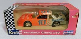 Revell #10 Derrike Cope Purolator Chevy 1:24 Die Cast Box damage - $14.25