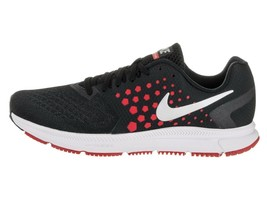 NIKE MEN'S ZOOM SPAN SHOES SIZE 14 black silver red grey 852437 003 - $46.58