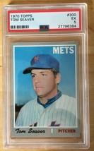 Tom Seaver 1970 Topps #300 PSA 5 Baseball Card EX New York Mets - $19.99