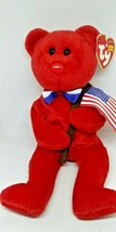 Ty Beanie Baby Thomas - MWMT (Bear Red 2004) Patriotic - $18.55