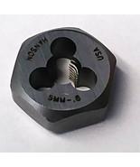 """Irwin Hanson 6322  5/8"""" Hex Threading Die 5mm ‑ 0.80 USA - $2.97"""