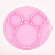 Silicone Baby Plate Feeding Dinner Newborn Free Food Dining Dishes Plate... - $9.08