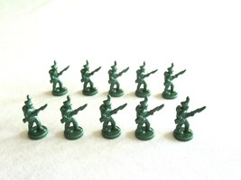 10x Risk 40th Anniversary Edition Board Game Metal Soldier Infantry Gree... - $16.99