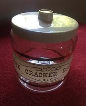 Vintage 60s Pyrex Cracker Barrel canister image 2