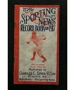 1917 The Sporting News Record Book Shoeless Joe Jackson Cover 64 pages W... - $1,188.00