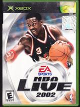 XBox EA Sports NBA Live 2002 - $6.50