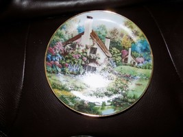 FRANKLIN MINT COLLECTORS PLATE A cozy glen limited edition heirloom vint... - $28.00