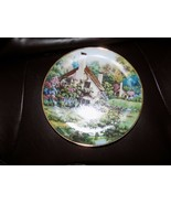 FRANKLIN MINT COLLECTORS PLATE A cozy glen limited edition heirloom vint... - $30.80