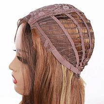 """Ama 26"""" Ombre Synthetic Wigs 1B/Blonde Dark Roots Long Wavy Synthetic Lace Front image 6"""