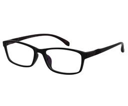 EBE Reading Glasses Mens Womens Black Rectangular Acetate Anti Glare - $21.66+