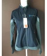 NWT Women's Elevate Sport L Gray Jozani Hybrid Softshell Jacket - $34.58