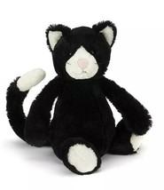 NEW NWT JELLYCAT Med Plush Bashful Tuxedo Black White Cat Kitty Stuffed ... - $21.99