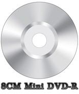 50x Blank Mini 8CM DVD-R Video Camera Camcorder Disc Silver (4x 30min 1.... - $34.02