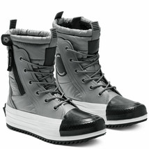 Converse Women CTAS MC Winter Boots Water Repellent 569381C Grey/Black/W... - $76.98