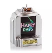 HALLMARK Magic Sound HAPPY DAYS Ornament NEW Plays Music FREE SHIPPING - $19.95