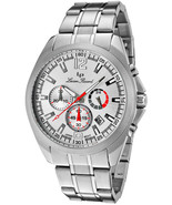 Lucien Piccard 28173SL Catalina Collection Chronograph Stainless Steel 100M Mens - $120.00