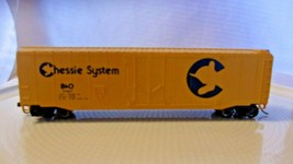 HO Scale Bachmann 50' Box Car B&O Chessie System, Yellow, #11147 - $29.70