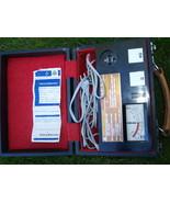 Vintage Metra Blansko Model Z01 Volt Megaohmeter Ohmmeter In Ortiginal Case - $98.01
