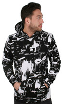 Dope Ink Study Men's Black Pullover NWT