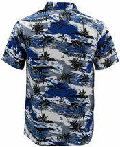 Men's Hawaiian Tropical Beach Party Button Up Casual Dress Shirt w/ Defect 2XL image 3