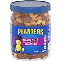 Planters Mixed Nuts, Regular Mixed Nuts, 1lb 11 Ounce Jar - $19.06