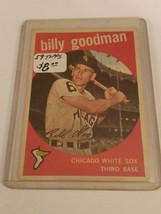 1959 Topps #103 Billy Goodman : Chicago White Sox - $4.04