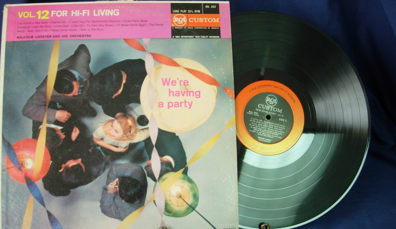 Malcolm Lockyer - We're Having a Party Vol 12 - RCA Custom RAL 1012