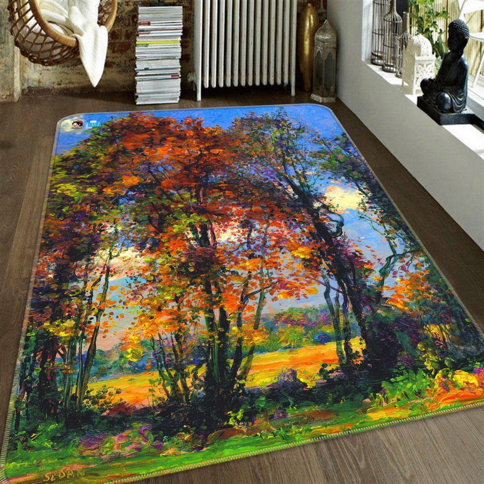 3D Forest Sunny 05 Non Slip Rug Mat Room Mat Quality Elegant Carpet UK Cobb - $106.68 - $409.82