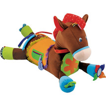 Kids Giddy Up and Play Stuffed Horse Baby Interactive Toy Animal Sounds Rattles - $118.59