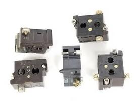 LOT OF 5 CUTLER-HAMMER 10250T CONTACT BLOCKS 600VAC, 250VDC image 1