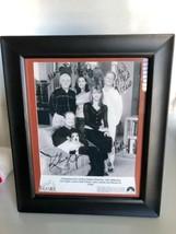 Frasier Cast 8x10 Framed To 10x12 B & W facsimile Autographed Photo - $22.56