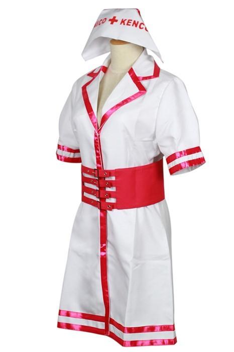 Super Sonico SONICOMI Nurse Uniform Cosplay Costume Outfit