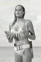 Ursula Andress Dr No Movie Poster 24x36 inches Honey Ryder White Bikini 007 - $14.99