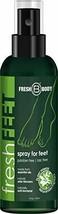 FRESH FEET by Fresh Body 4 oz Spray by the trusted Creator of Fresh Balls! Natur