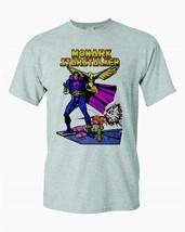 Monark Starstalker T-shirt vintage Bronze Age comics heather grey superhero tee image 1