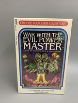 War With The Evil Power Master Promo Pack Board Game Choose Your Own Adventure - $22.28