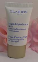 Clarins of Paris Extra Firming Night Rejuvenating Cream  .5oz / 15 ml Al... - $14.99