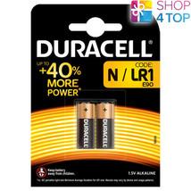 2 Duracell Alkaline LR1 LR01 Batteries 1.5V N Kn AM5 4001 Exp 2022 New - $5.53