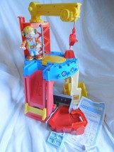 Playskool Bob Builder Adventure Bob's Construction 19-pc site playset incomplete - $64.95