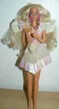 Mattel 1970's Twist N' Turn Bendable Knee Superstar Barbie Doll pink spa... - $12.92