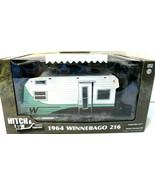 GREENLIGHT HITCH & TOW 1964 WINNEBAGO 216 CAMPER GREEN MACHINE CHASE! NEW - $29.01