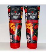 2-Pack Bath & Body Works SUGARED CHERRY CRISP Ultra Shea Body Cream 8 oz - $22.72