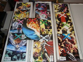 Earth X Marvel Comic Book Lot #0 - 12 and Issue X Missing Issue 11 X-Men... - $14.39