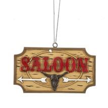 Saloon Plaque Ornament - $12.95