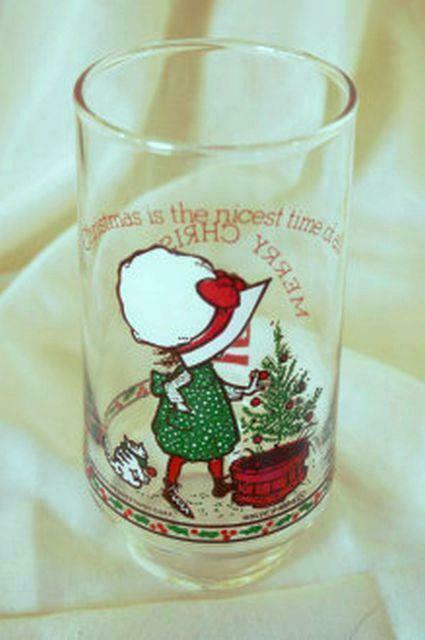 Primary image for Coca Cola American Greetings Holly Hobbie Christmas Tree Tumbler 16 oz.