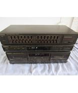 Vtg Technics Stereo System Set ST K55 RS TR170 SH8017 Cassette Tuner Eqa... - $173.27