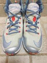 Pre Owned NIKE  LEBRON  XIII  13 GS Christmas Sneakers 824502-144 Size 6.5Y - $49.45