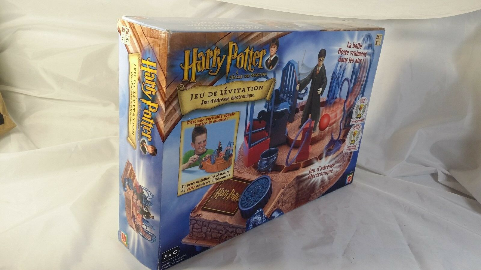 Harry Potter & the Sorcerers Stone Levitating Challenge Game French Version RARE
