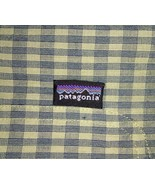 Patagonia Men's Green L short-sleeve button-down plaid Breast Pocket shirt - $28.04